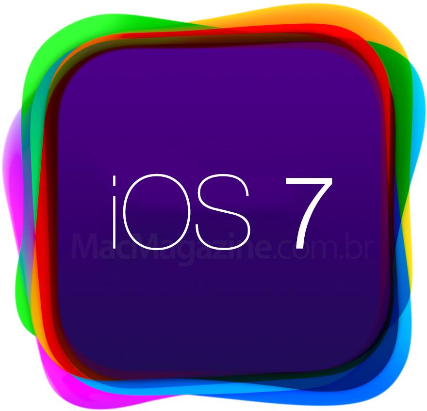 Logo do iOS 7 na WWDC - by MacMagazine