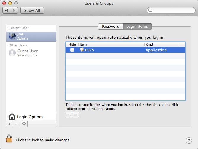 Malware - macs.app