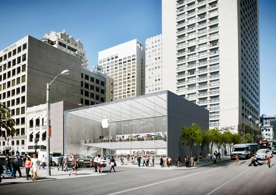 Futura Apple Store que abrirá em San Francisco