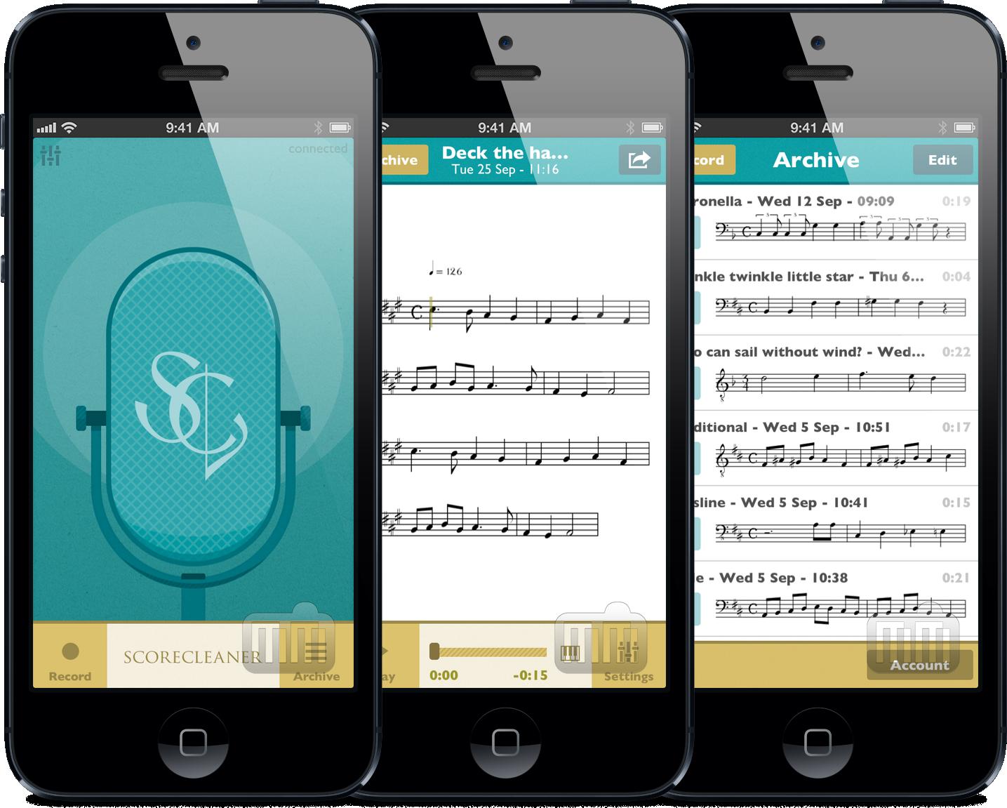 ScoreCleaner para iOS