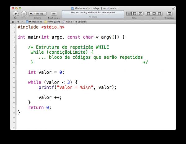 programando em C — repetidores WHILE e DO WHILE
