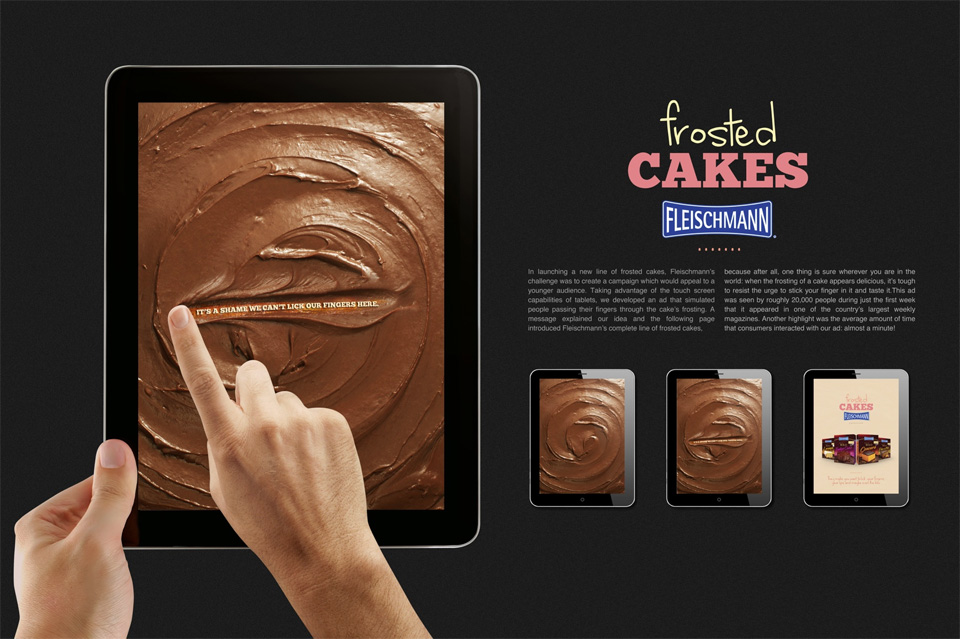 Cobertura de bolo da Fleischmann