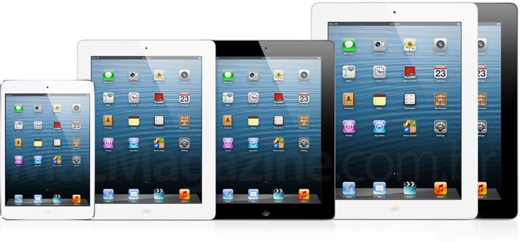 Montagem de iPad Maxi