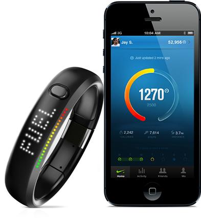 Nike+ FuelBand com iPhone