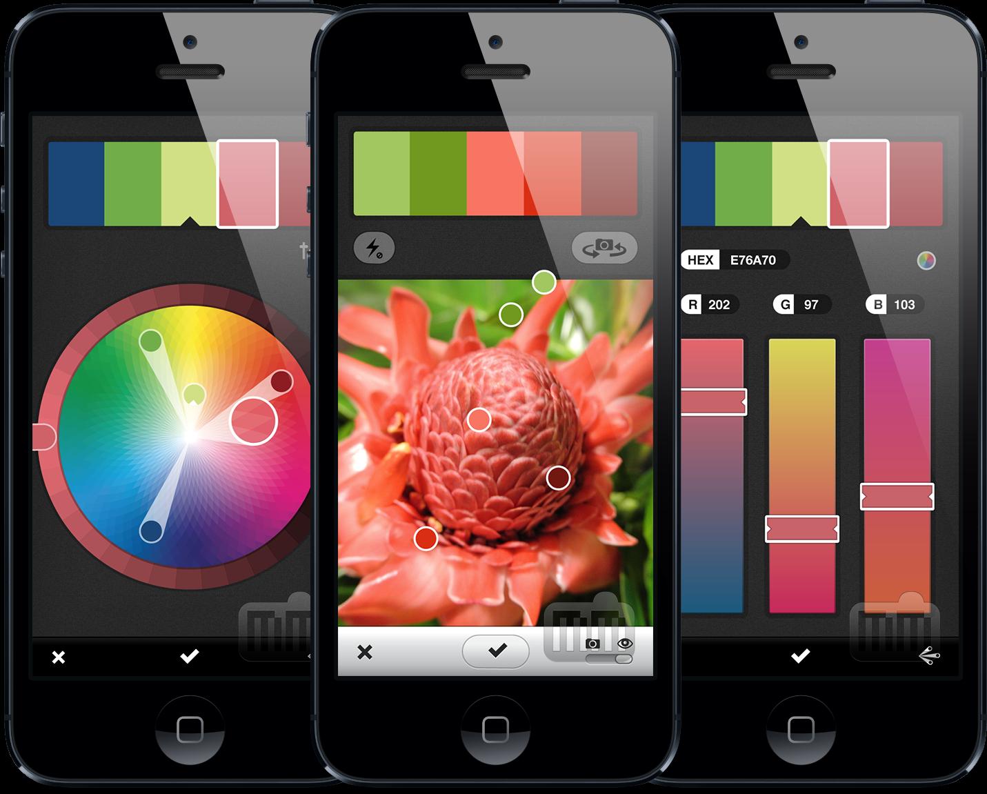 Adobe Kuler em iPhones