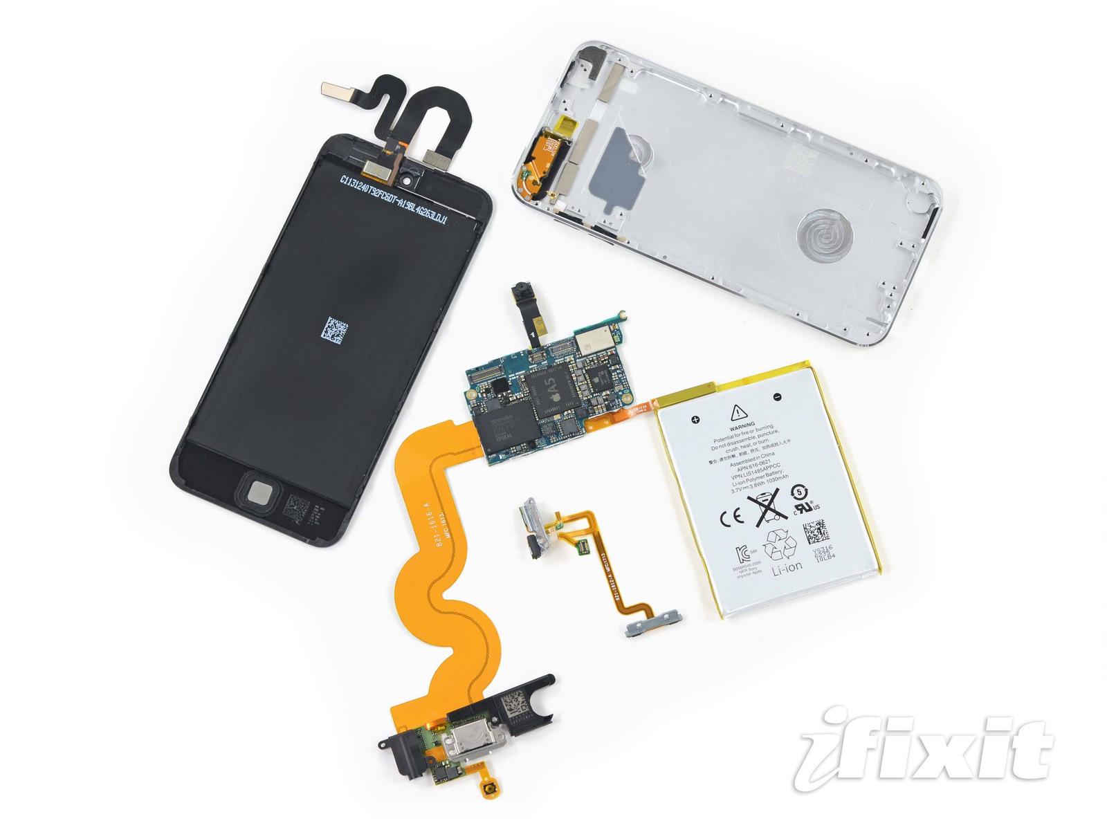 iFixit dentro do iPod touch de 16GB