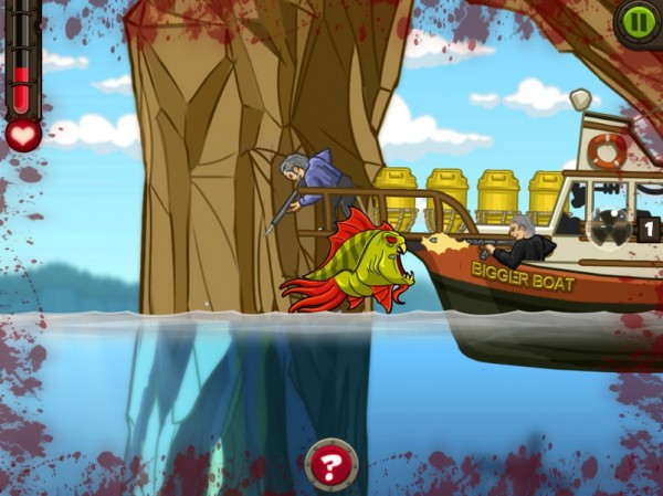 Screenshot de Zombie Fish Tank
