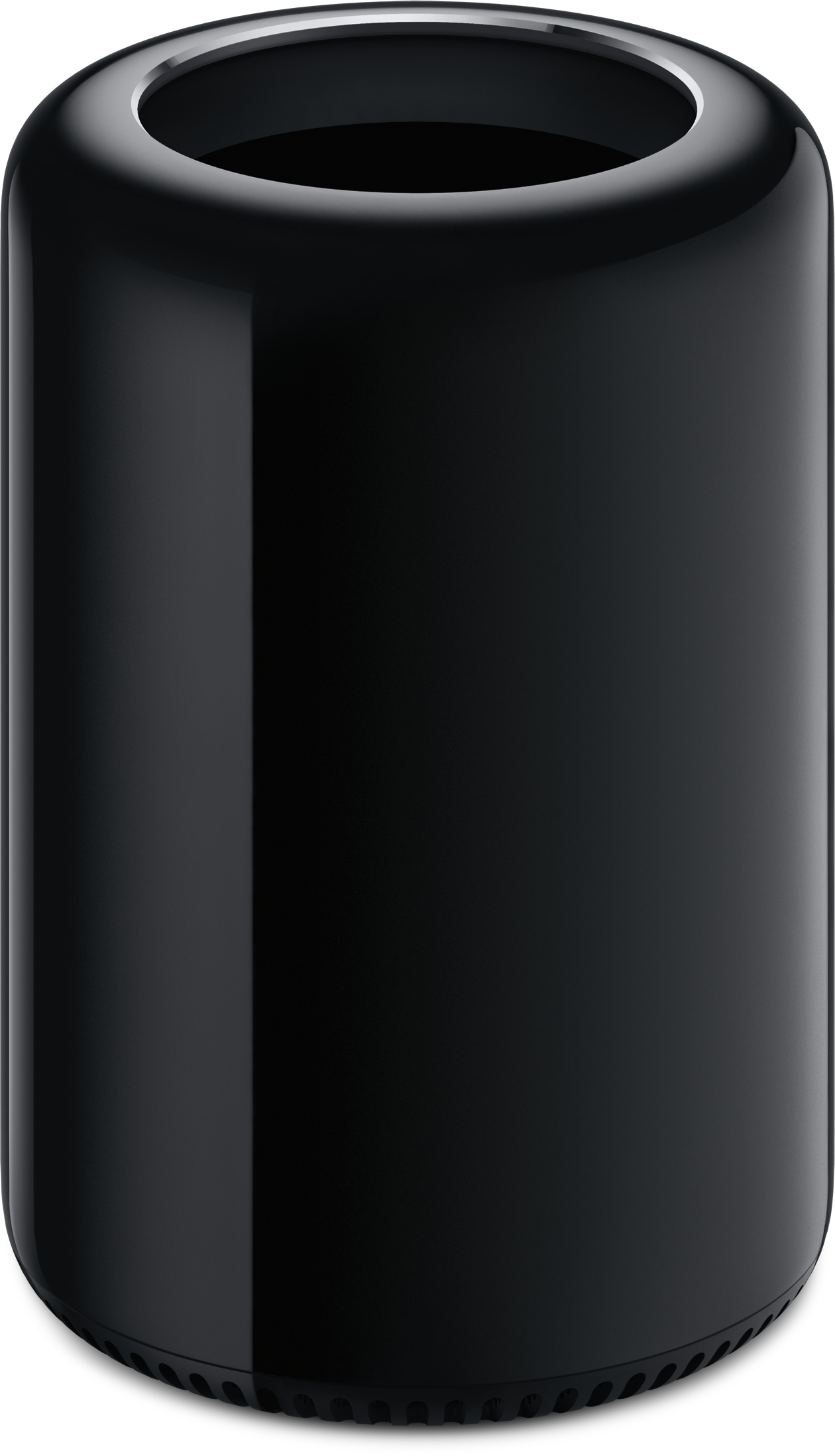 Mac Pro de frente e cima