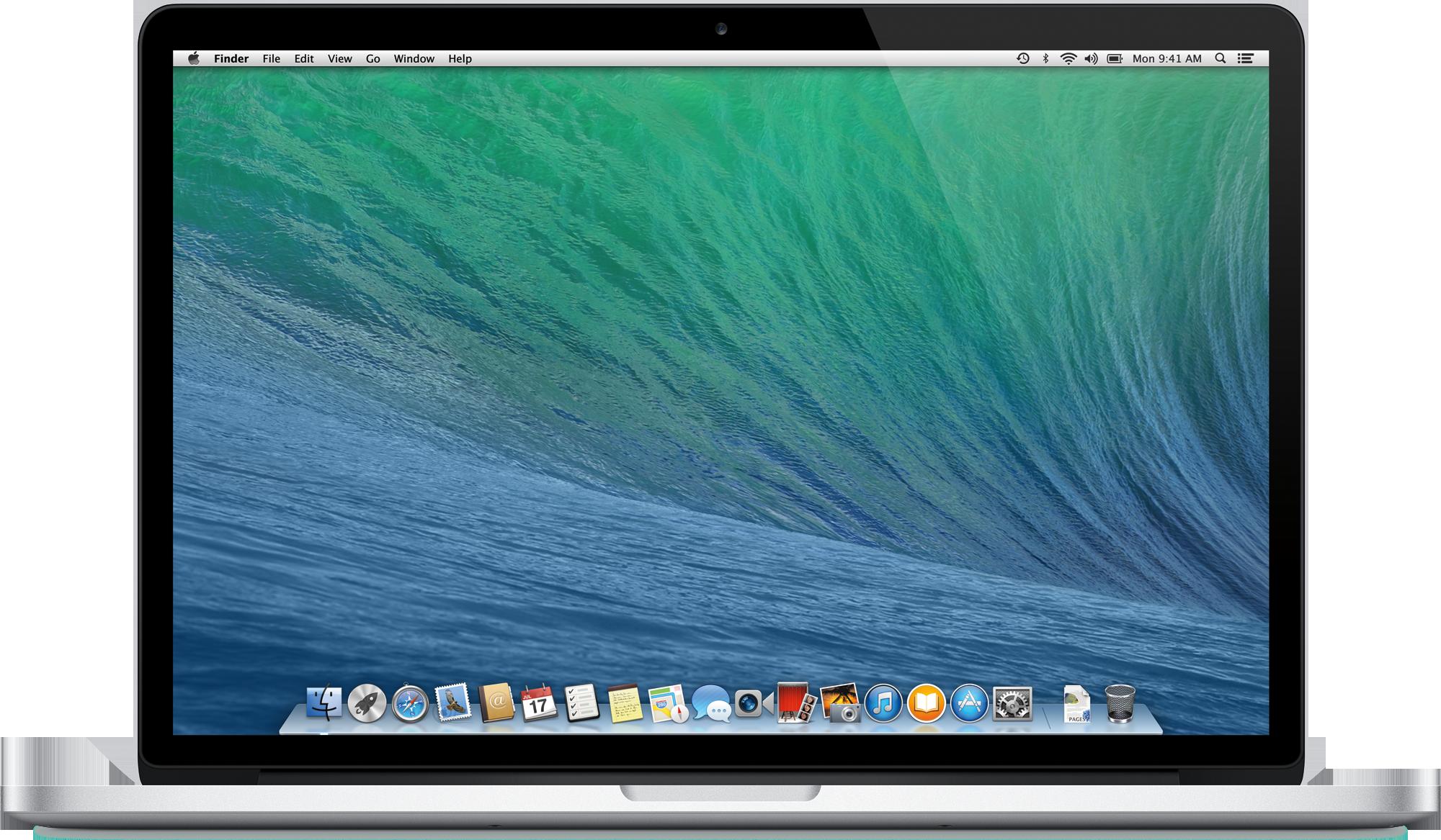 OS X Mavericks num MacBook Pro Retina