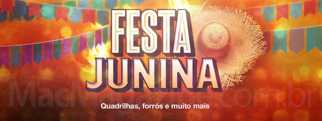 Festa Junina na iTunes Store