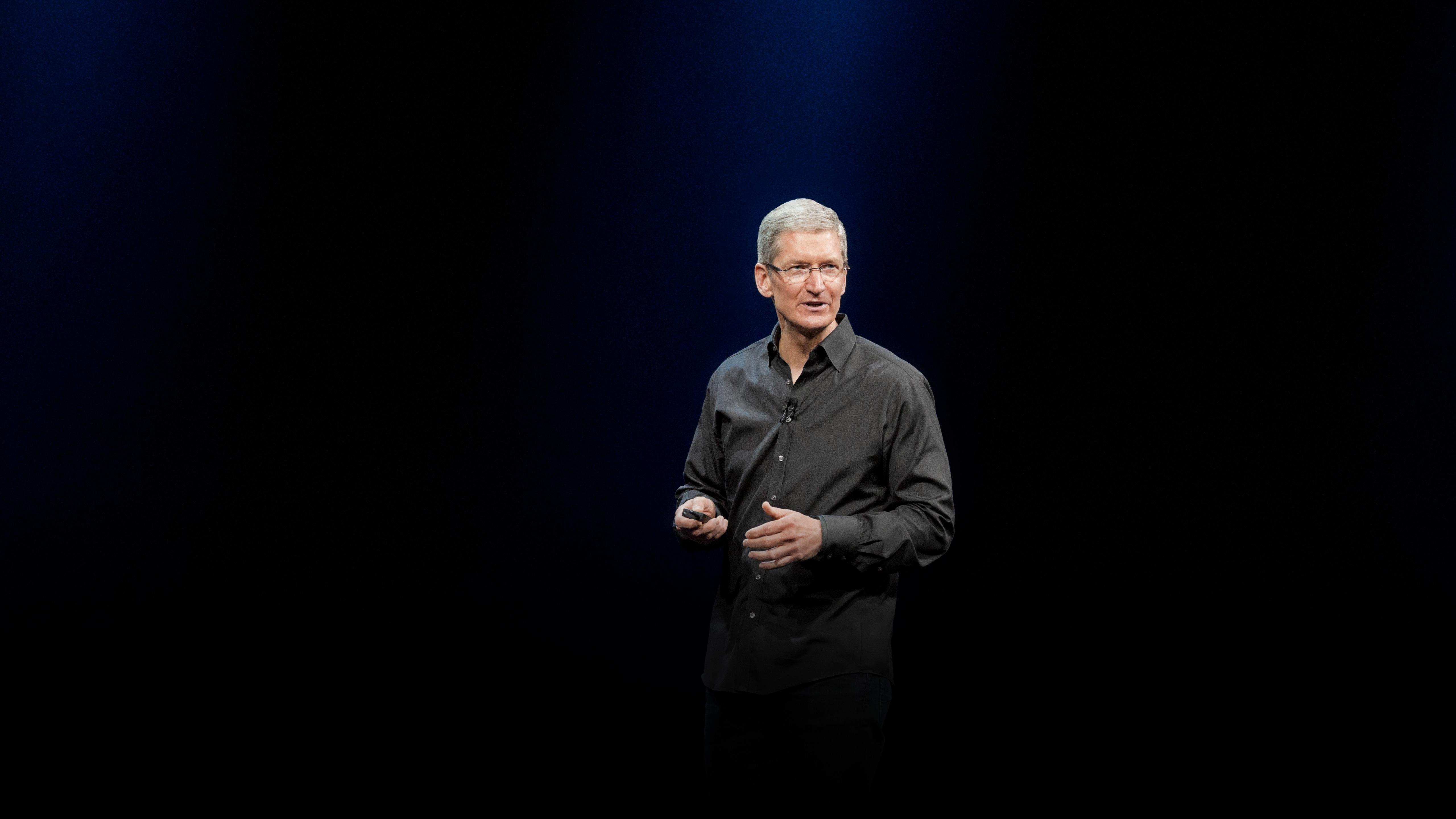 Tim Cook na keynote de abertura da WWDC 2013