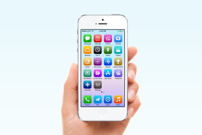 iOS 7 por Christophe Tauziet