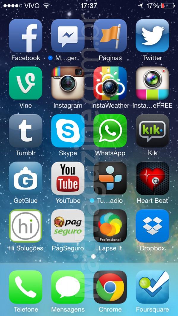 Quer ainda mais screenshots do iOS 7? Vamos então à nossa quarta grande leva!