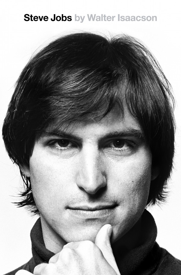 Nova capa da biografia com Steve Jobs jovem