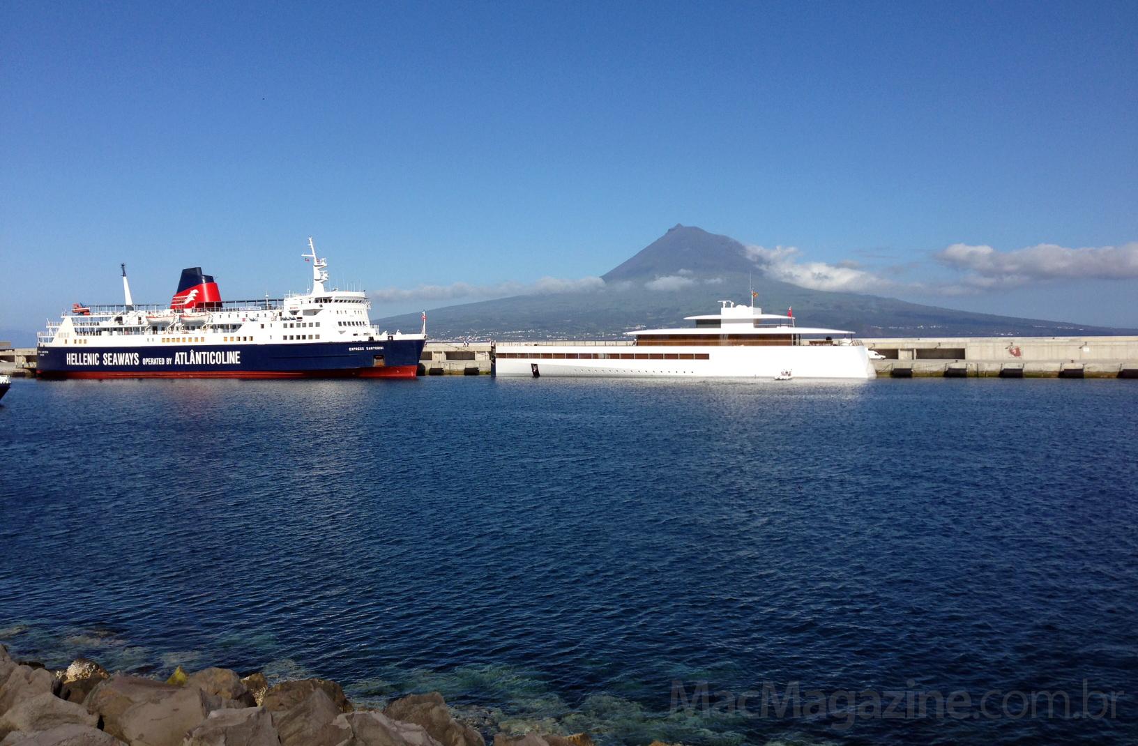 Iate Venus em Açores