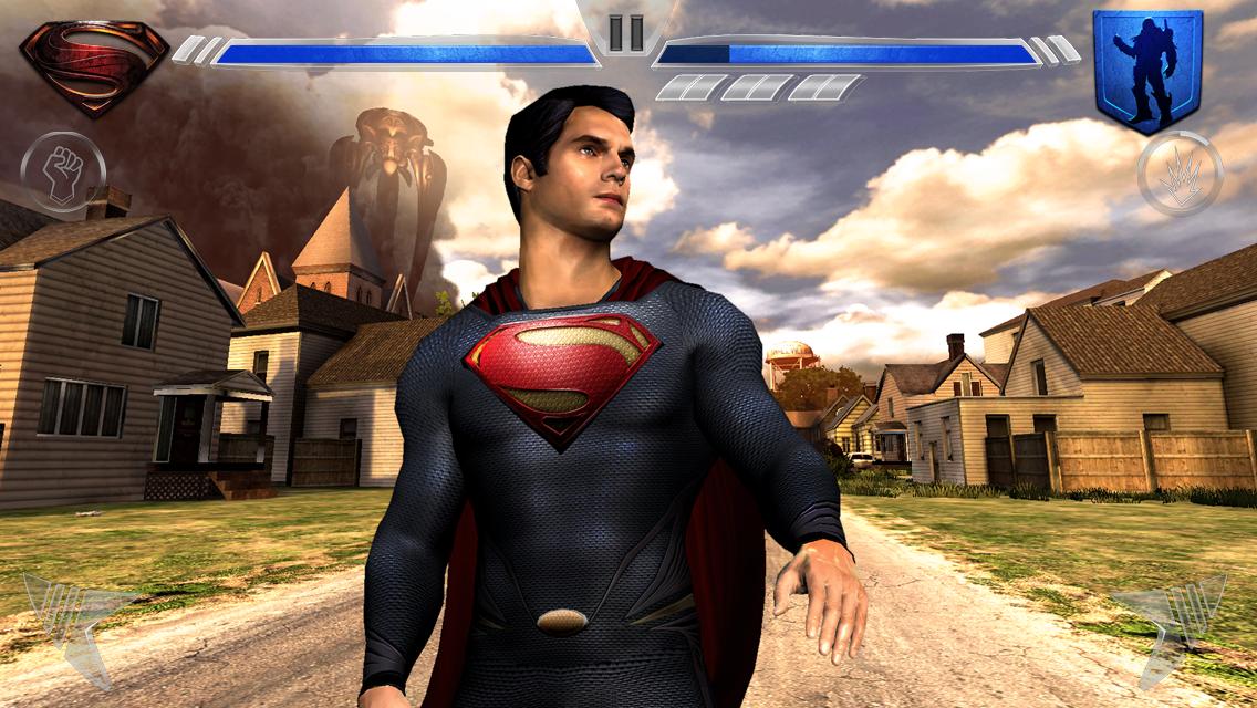 Screenshot de Homem de Aço