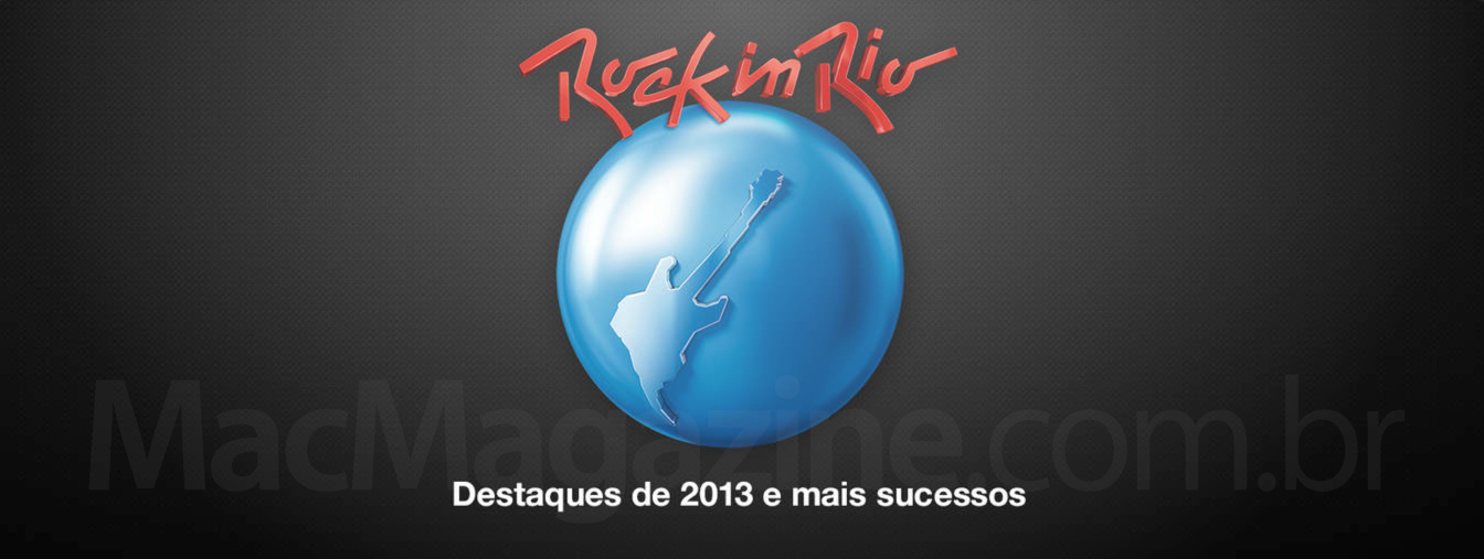 Rock in Rio 2013 na iTunes