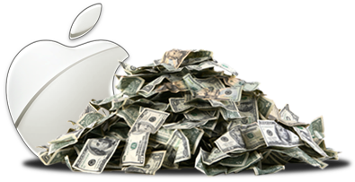 Dinheiro da Apple
