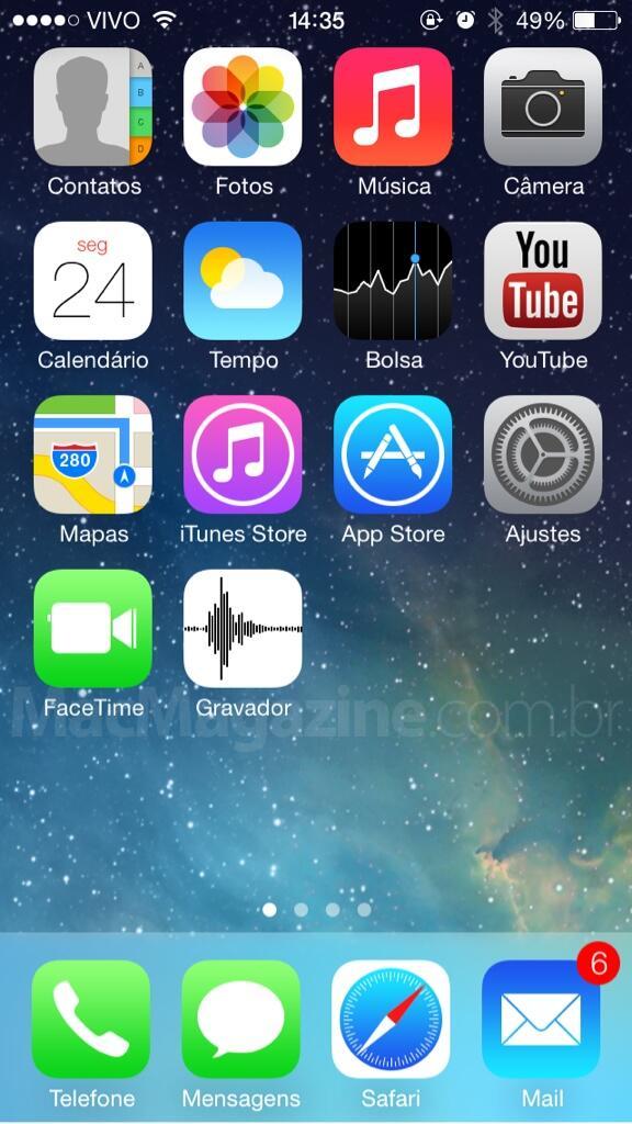 Gravador no iOS 7 beta 2