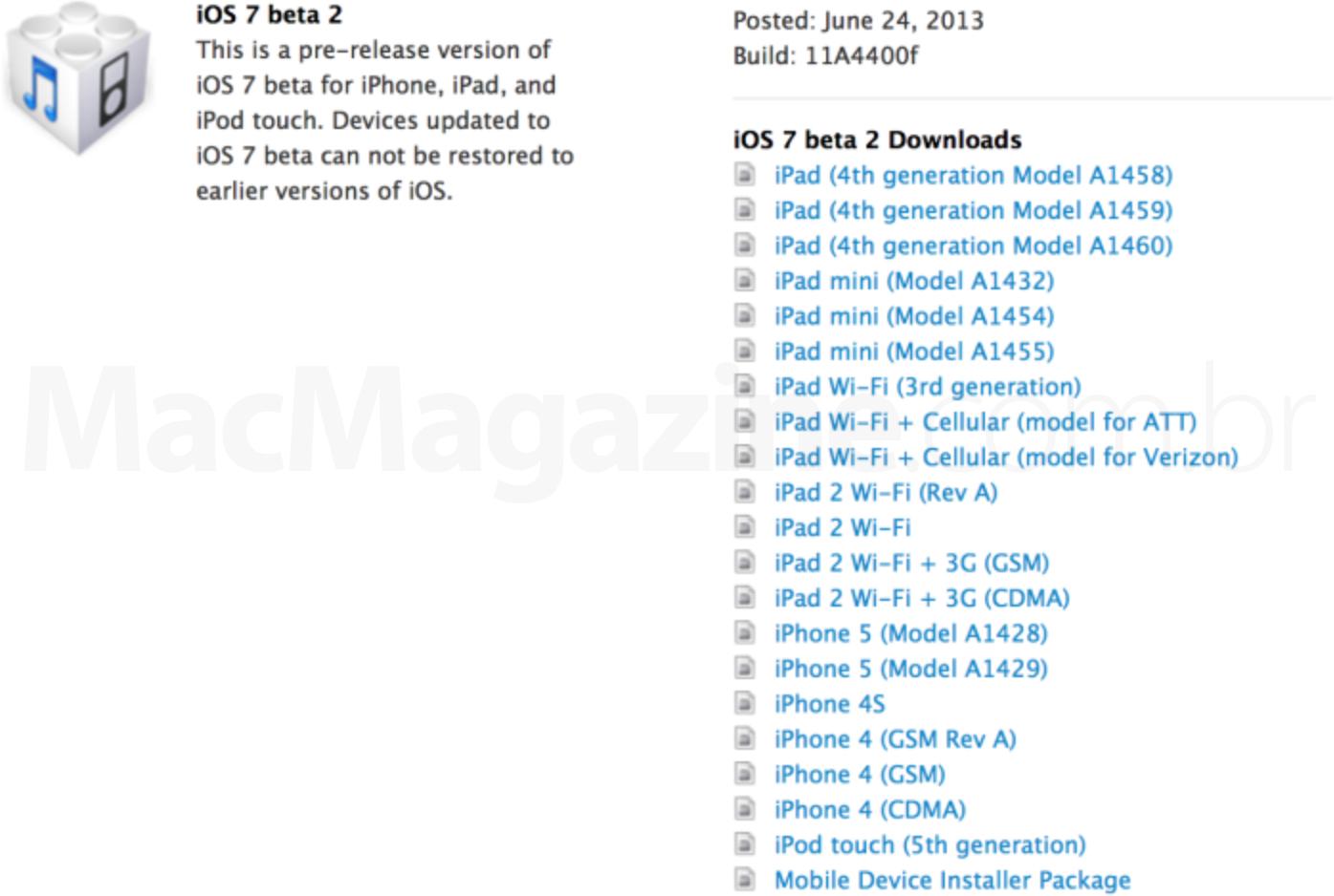 iOS Dev Center - iOS 7 beta 2
