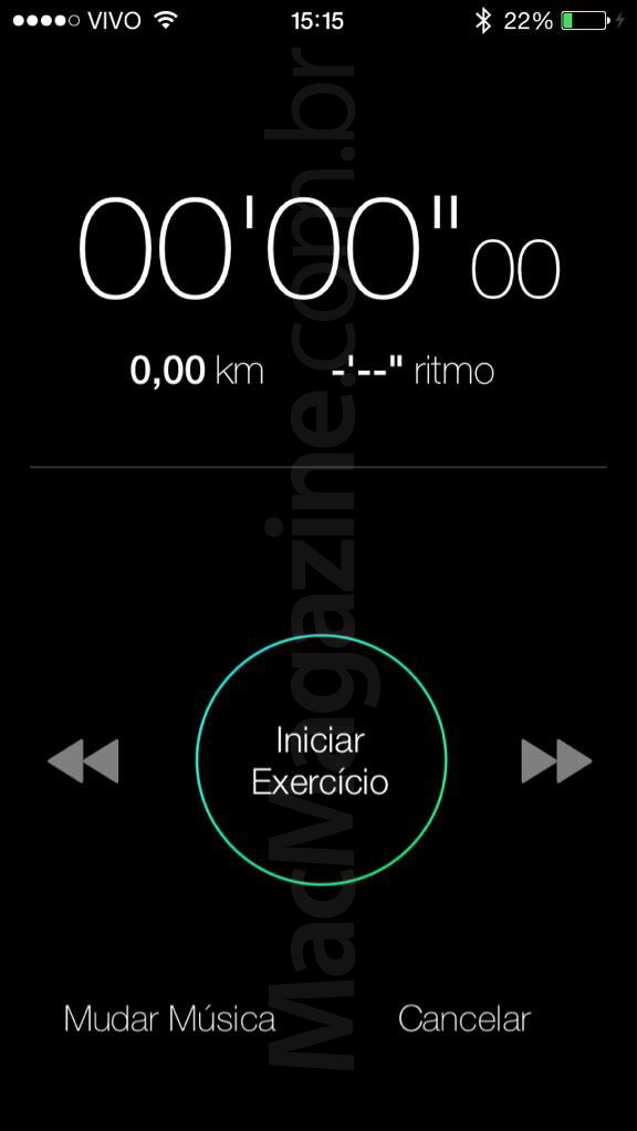 Nike + iPod no iOS 7 beta 2