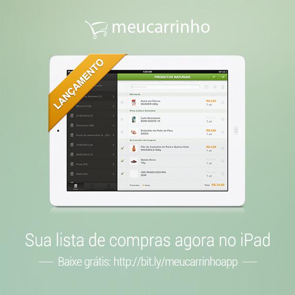 MeuCarrinho - iPad
