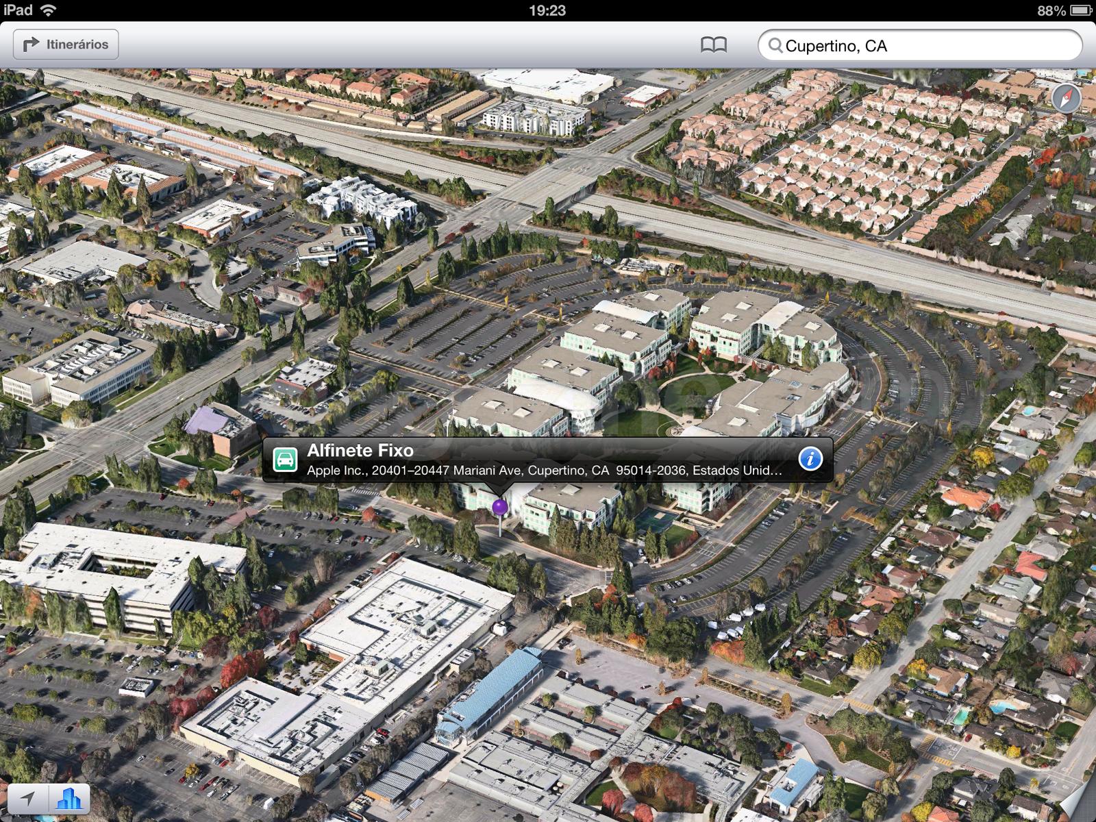 Sede da Apple no Flyover