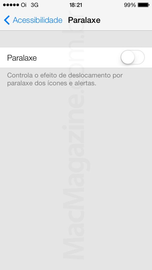 Screenshot do iOS 7 beta 2