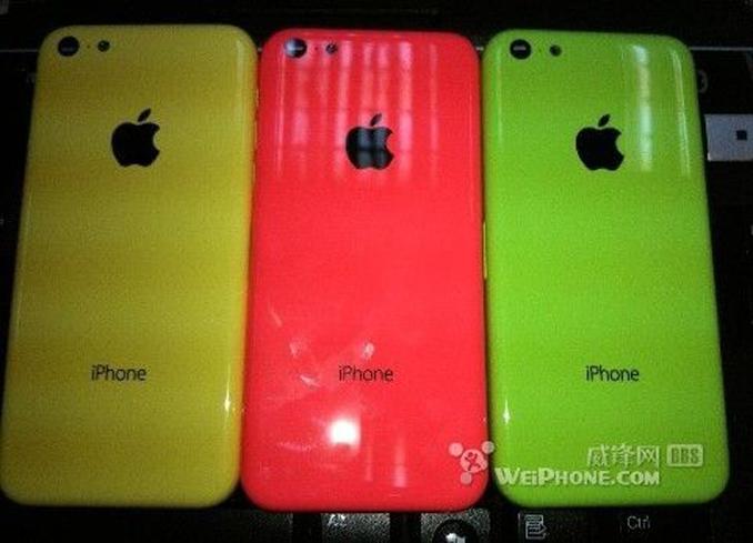 Suposto iPhone de baixo custo