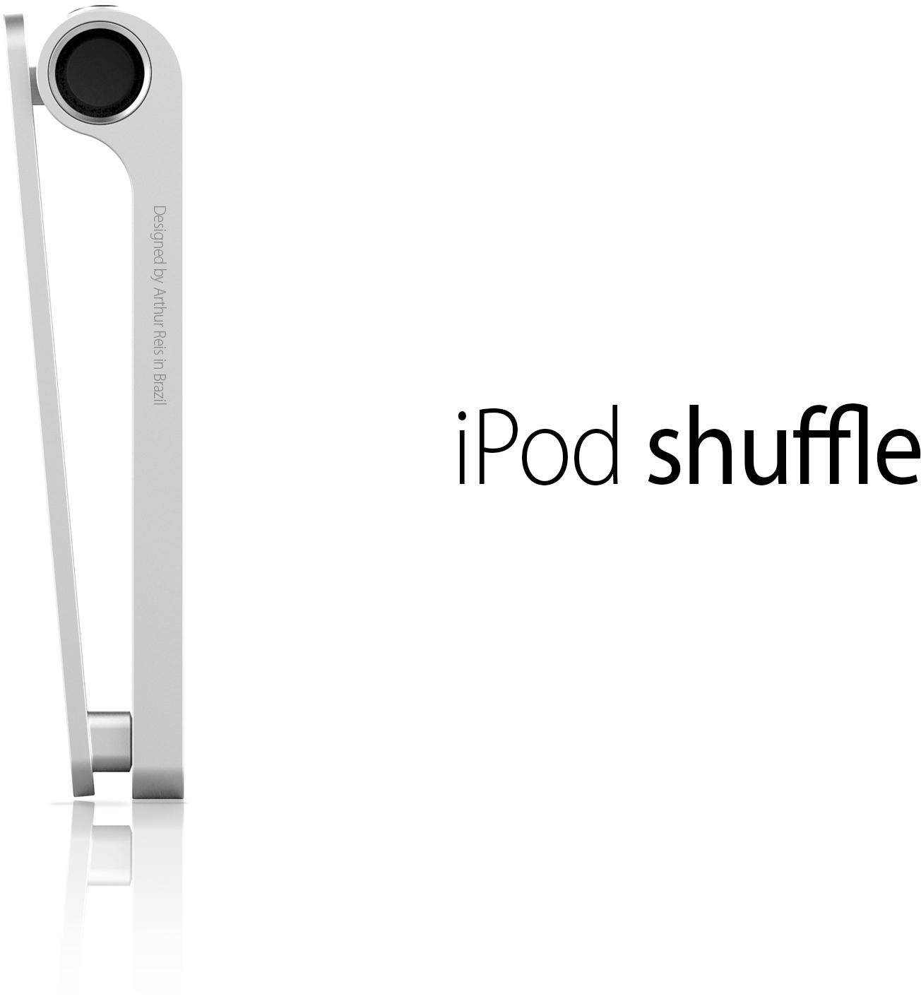 Conceito de novo iPod shuffle