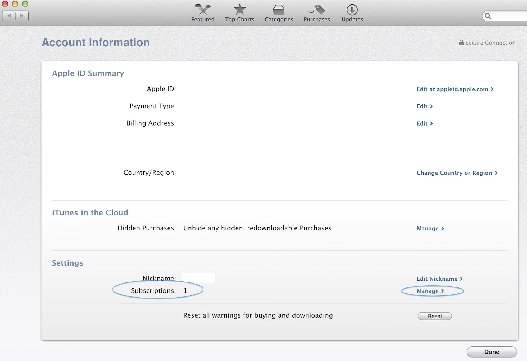 Assinaturas no OS X Mavericks