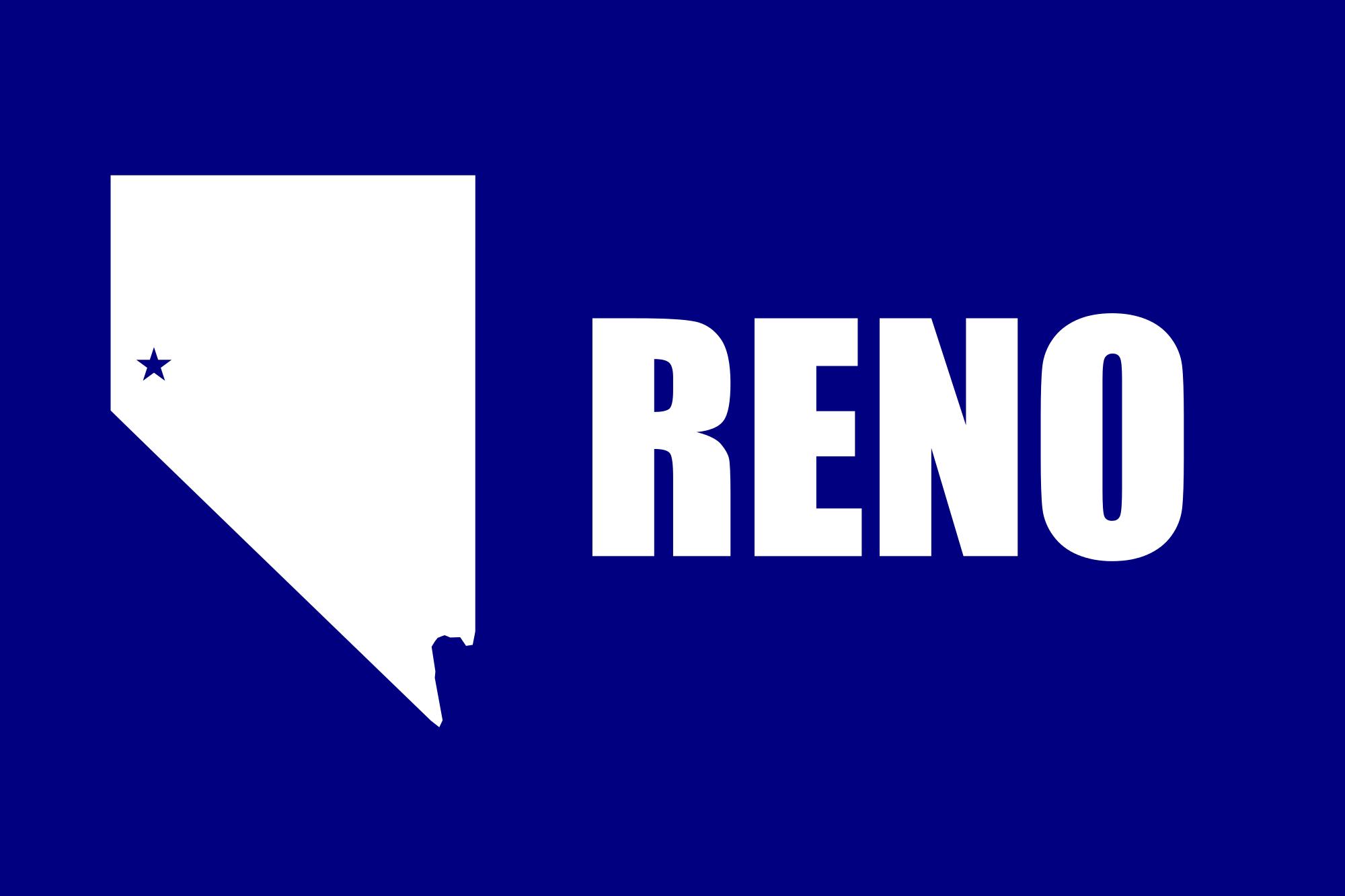 Bandeira de Reno (Nevada)