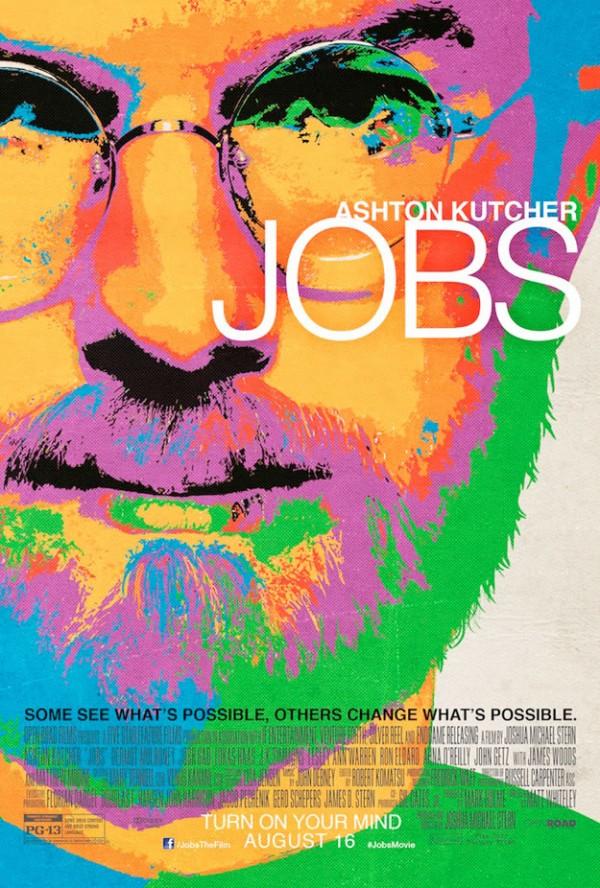 """Cartaz do filme """"JOBS"""""""
