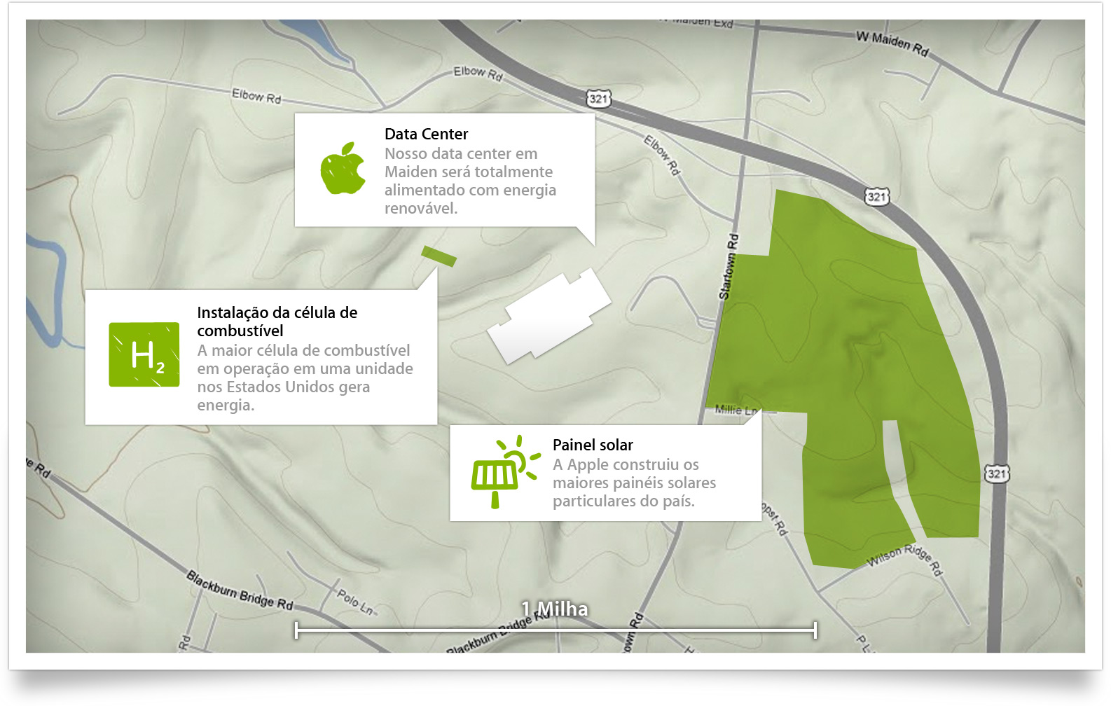 Data center da Apple em Maiden