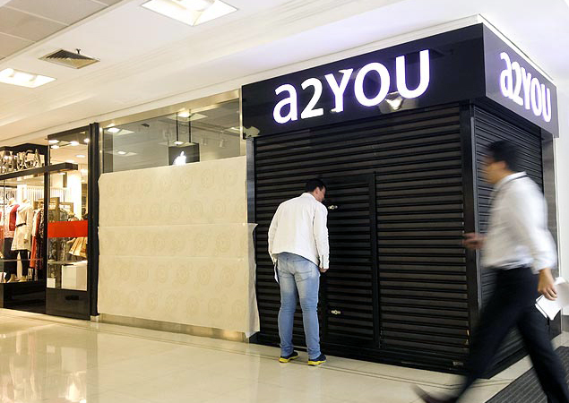 a2YOU do Shopping Pátio Paulista assaltada