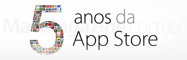 5 anos de App Store