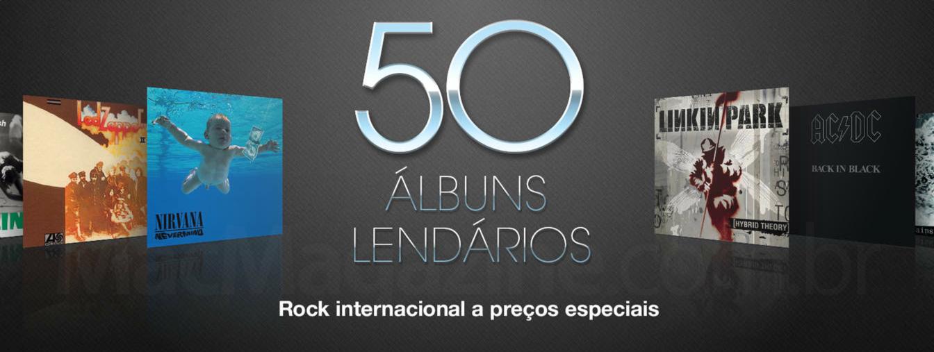 50 álbuns lendários