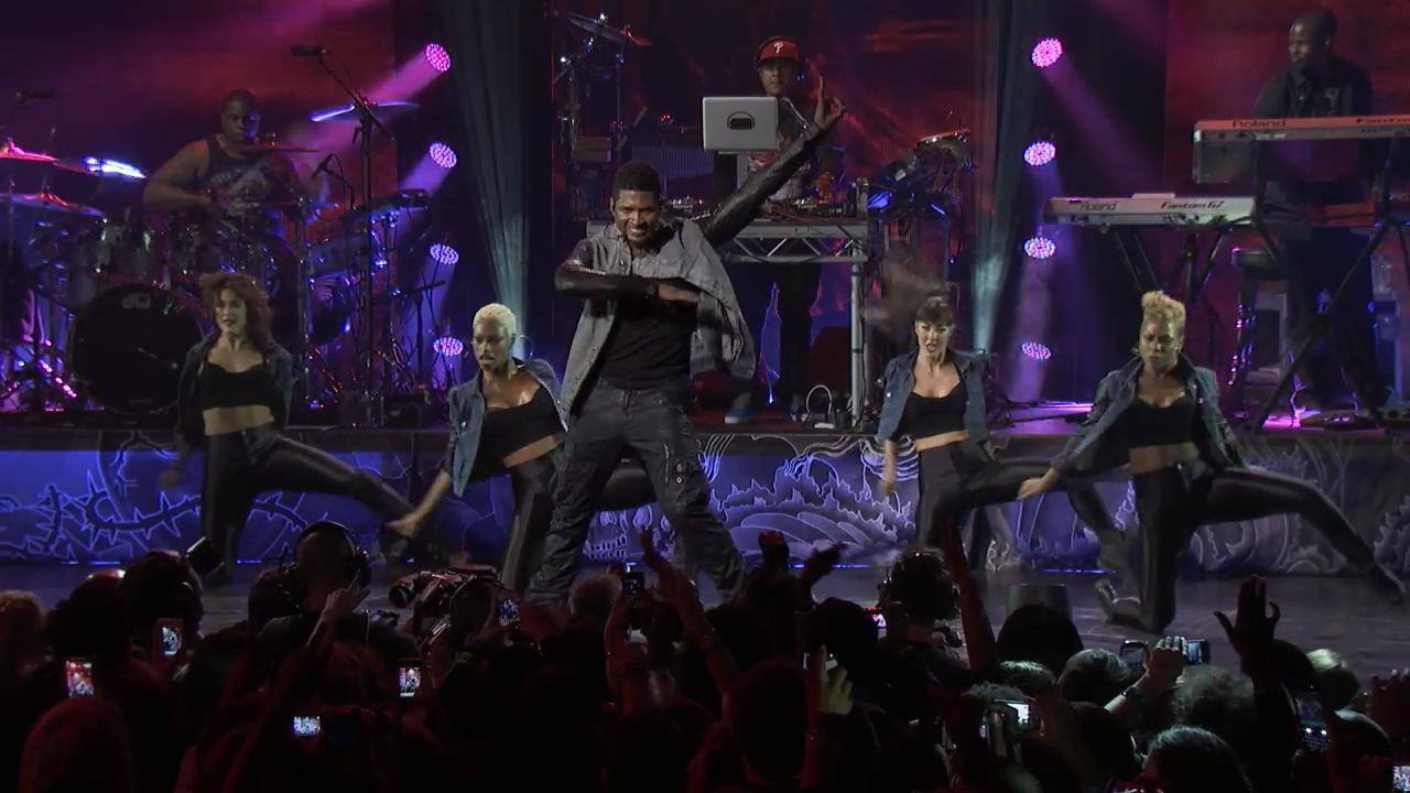 Usher no iTunes Festival 2012