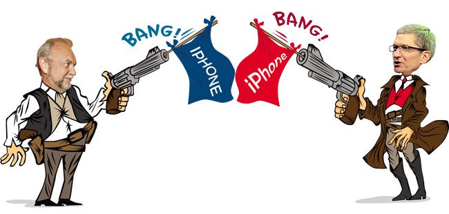 Gradiente vs. Apple