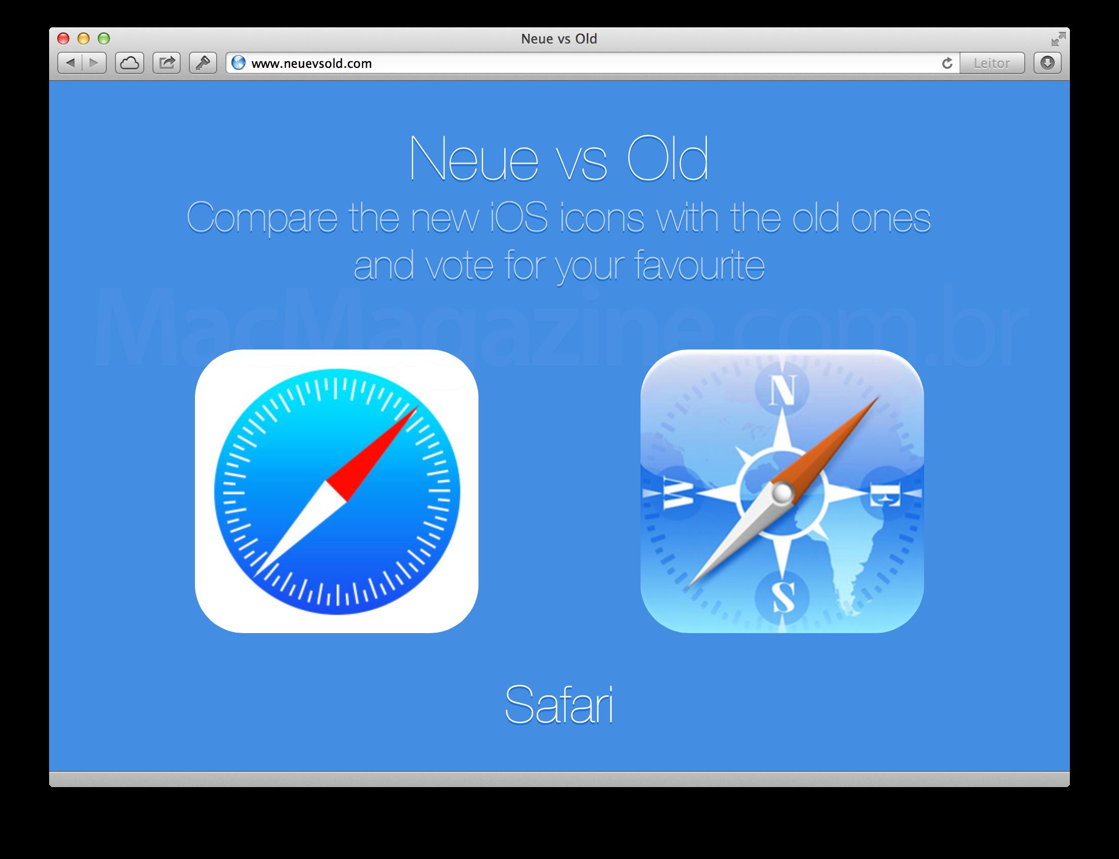 Neue vs Old