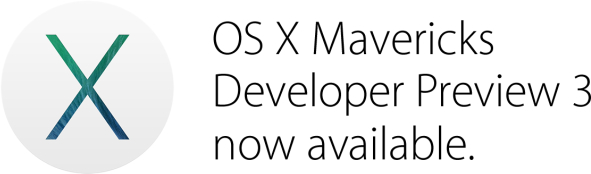 OS X Mavericks Developer Preview 3