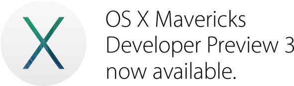 OS X Mavericks Developer Preview 3