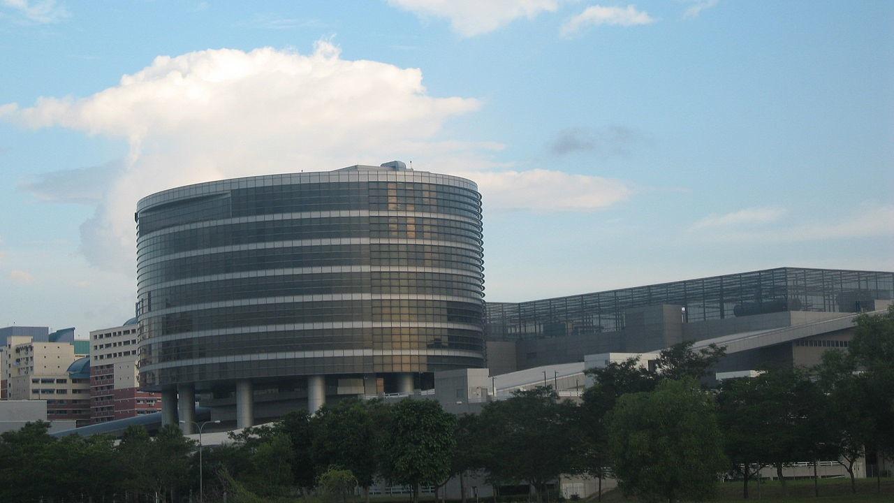 Fábrica/sede da UMC, em Cingapura