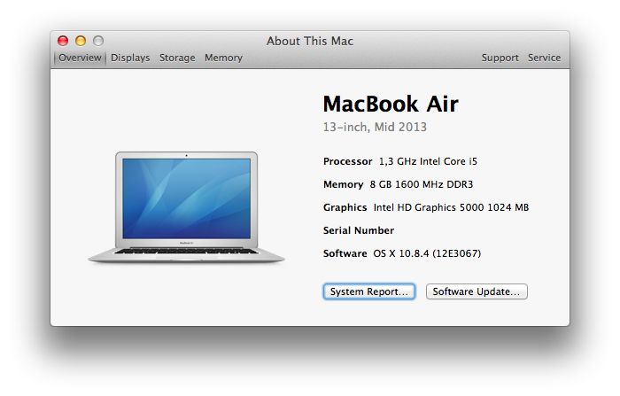MacBook Air (Mid 2013)