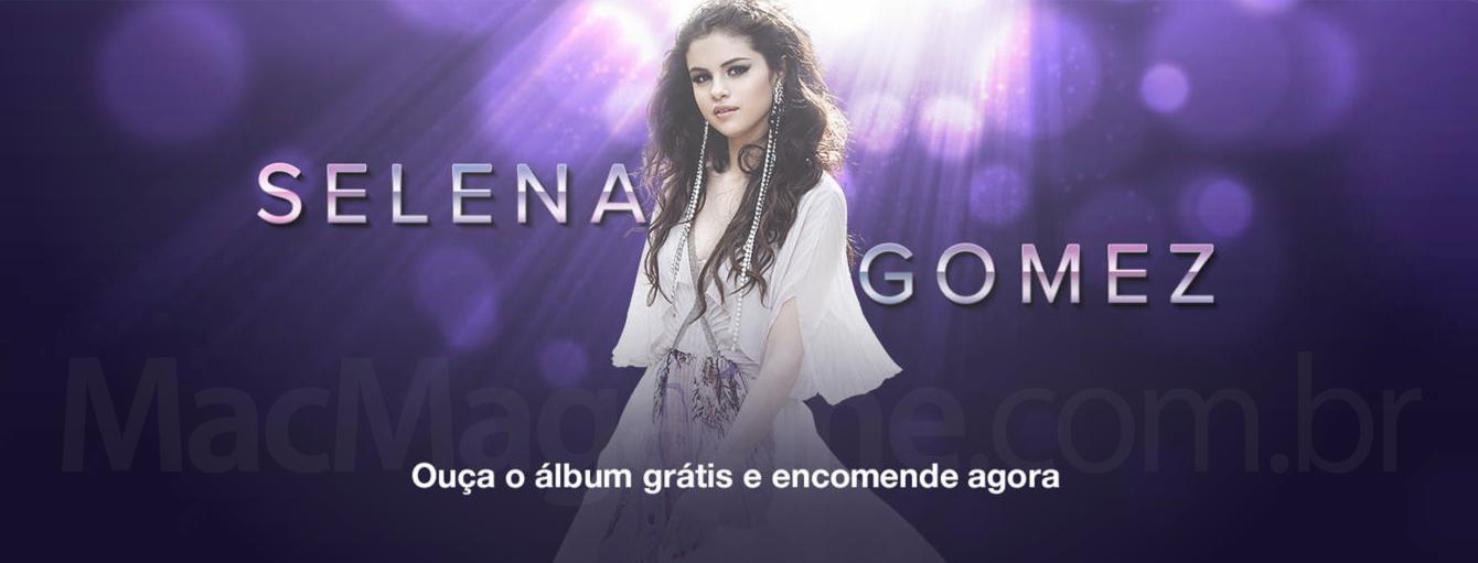 Destaque sobre Selena Gomez