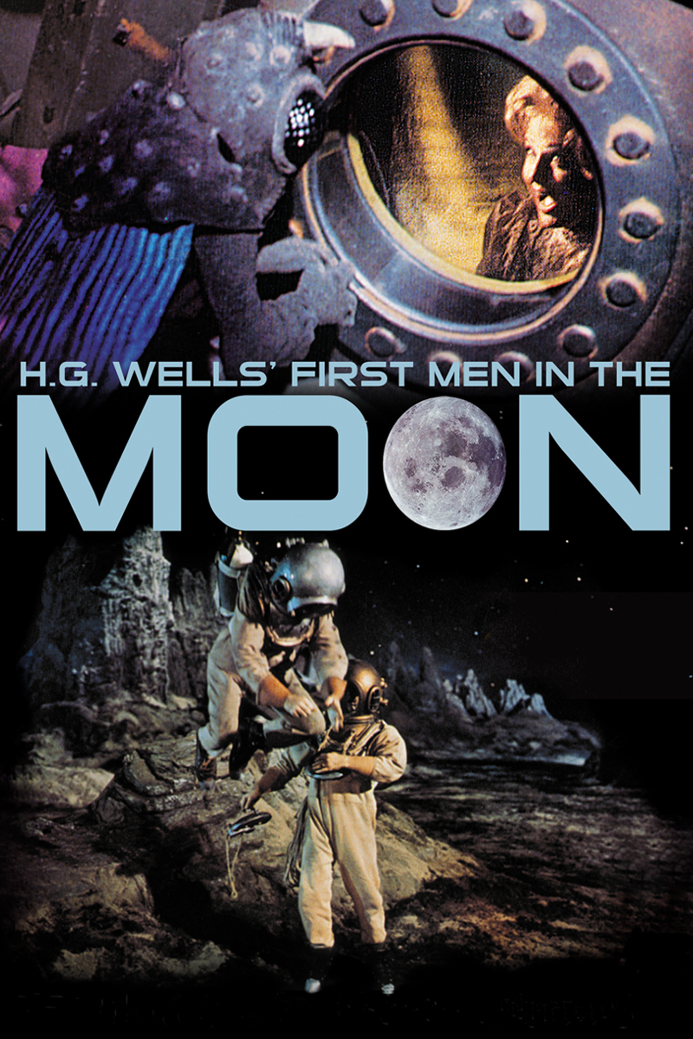 Capa de filme - First Men in the Moon