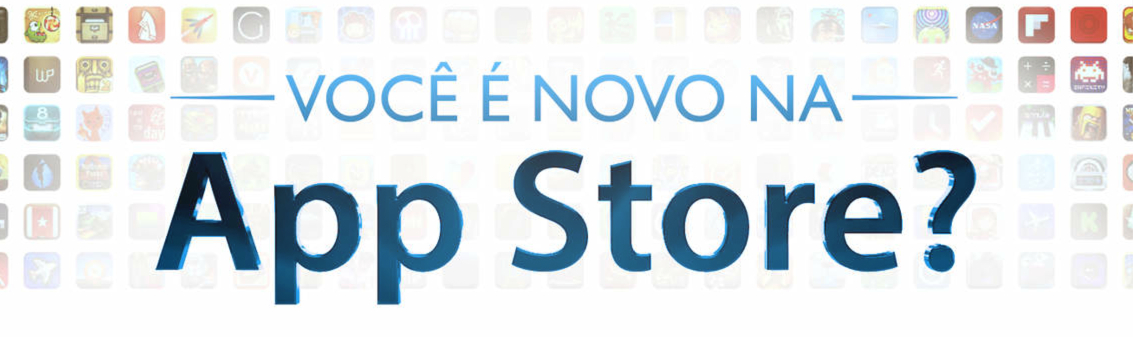 Banner - Você é novo na App Store?