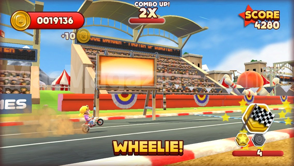 Joe Danger para iOS - screenshot