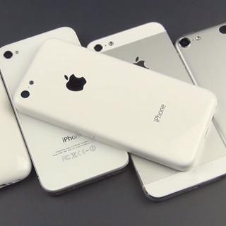 "Miniatura da carcaça do ""iPhone de baixo custo"""