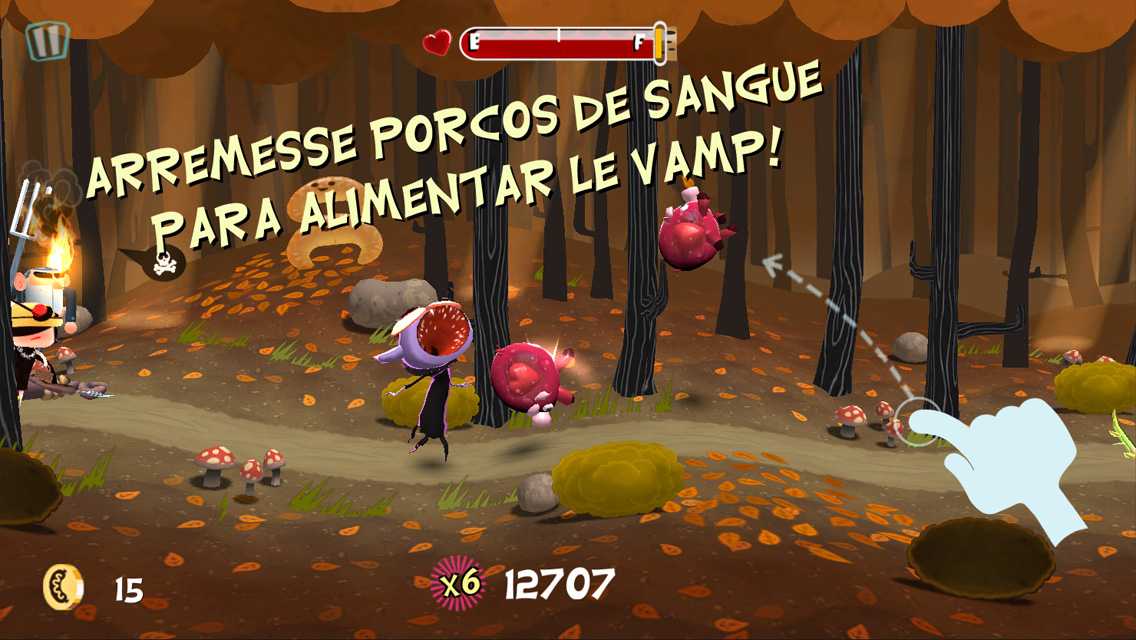 Jogo Le Vamp para iOS